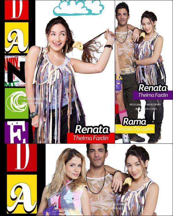 _ Eva et Thelma ce retrouvent dans DANCE!  _ La série que Eva Tournait à Montevideo en Uruguay est maintenant révéler, et  on  apprend que Thelma Fardin fait partie du casting. Dans la série le personnage d' Eva  s'appelle Gala et celle de Thelma Renata. _
