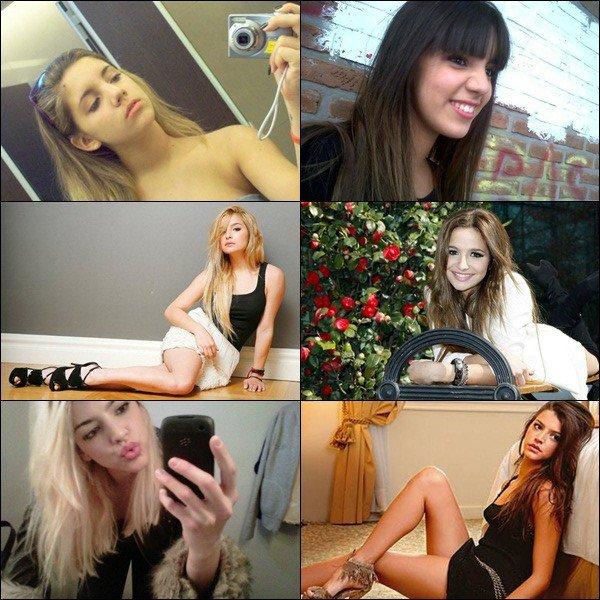 _  BRUNE OU BLONDE ?_ Laquelle est la plus jolie en brune / blonde ? Laquelle ne devrait pas se teindre en brune / blonde ? _