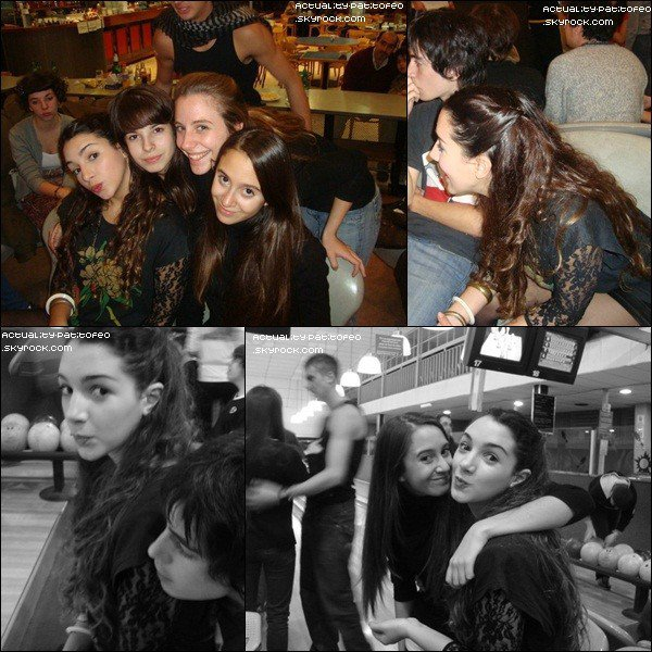 _ Photos de Thelma et Eva  sur le tournage de Dance ! . _