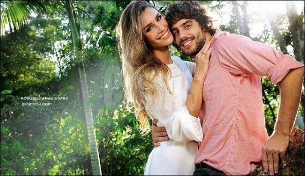 _  Paula Mores & Juan Manuel Guilera  ont récemment fait une interview pour le magasine CARAS .  _