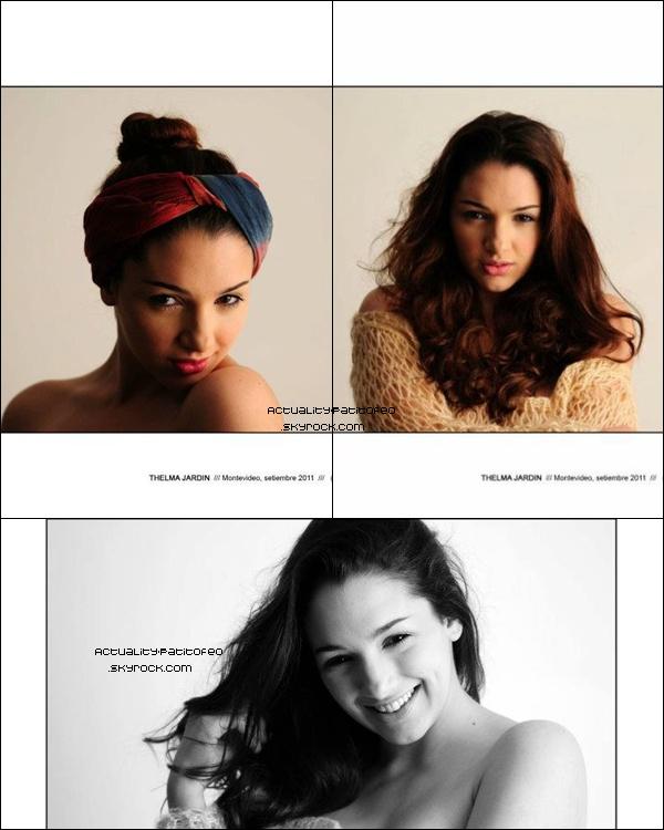 _   Photoshoot de Thelma pour Alejandro Persichetti. _