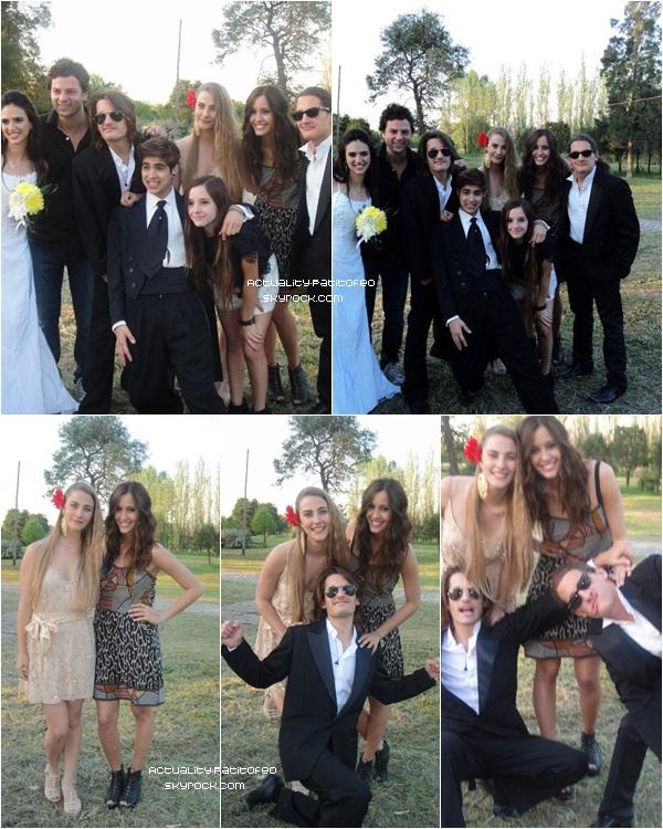 _ Photos de backstage de Nicole sur le tournage du clip '' Cuando te hagas mayor '' De MR. _