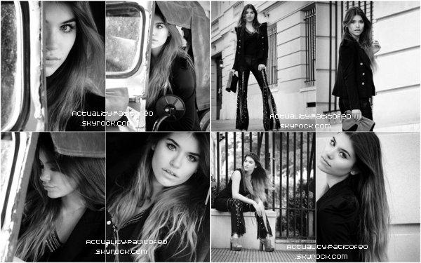 _ Photoshoot D'Eva pour Dolores Gortari. _