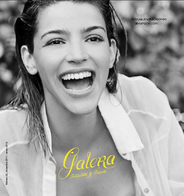_ Scan Calu dans le magazine Galera. _