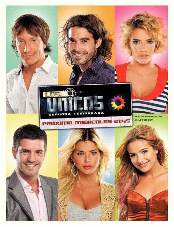 """_ Photo promo pour la 2eme saison de """"Los Unicos"""" Nouvelle photo pour Clider Interview de Eugenia & Brenda pour la deuxième saison de """"Los Unicos"""" _"""