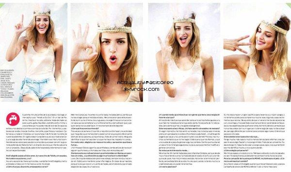 _ Scan du magazine OHLALA + Les photos de Calu dans le nouveau local de Maria Cher. _