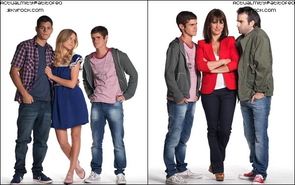 _ Photos Promotionnelle de Martin ( Gaston ) pour Los Graduados _