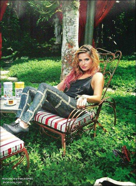 _ Interview de Brenda Asnicar pour le magasine GENTE. _