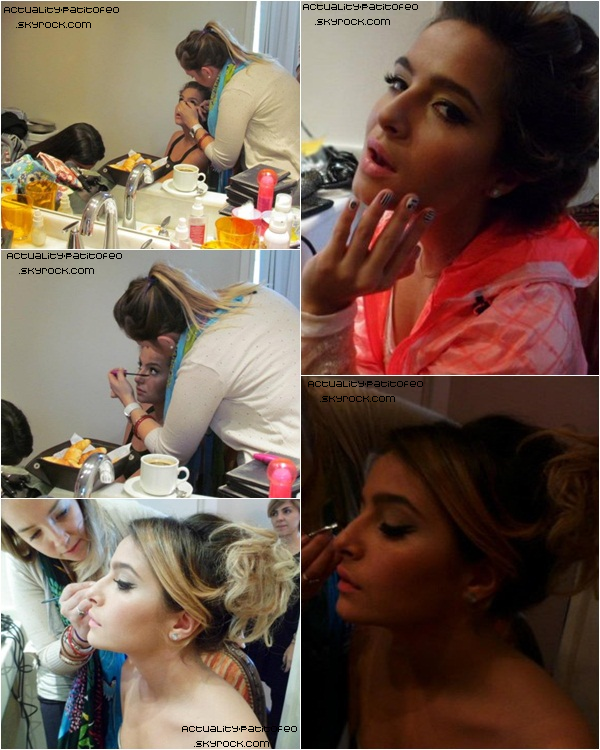 _ Photos Backstage, Brenda posant pour Caras Teen. _