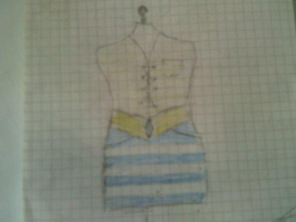 1.la robe de bureau