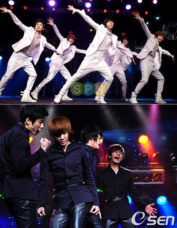 News du 3 mai 2011 : Encore des photos de X-5 au Music Bank