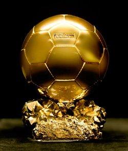 Voici  mon ballon d'or