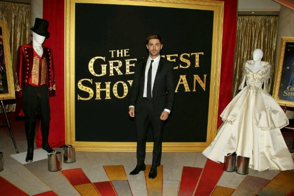 Zac fait la promotion de the greatest showman