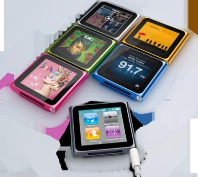 Les nouveaux iPods Nano