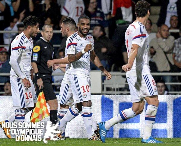 Victoire contre Montpellier 5-1 le 19/10/14