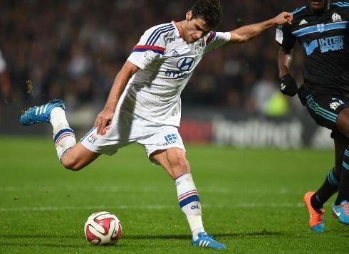 Lyon met fin à une série de huit succès de l'OM but de gourcuff