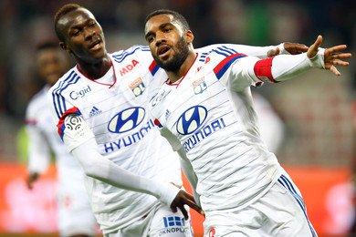 Nice - Lyon 01/11/14 victoire de lyon 3-1