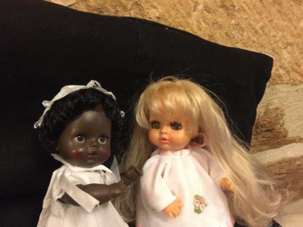 La blonde et la brune