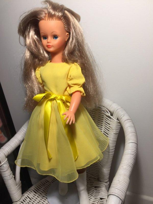 Cathie dans sa tenue soleil d'automne