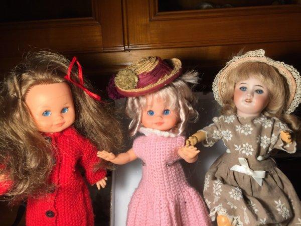 Muriel et Muriel rencontrent mamie Bleuette...