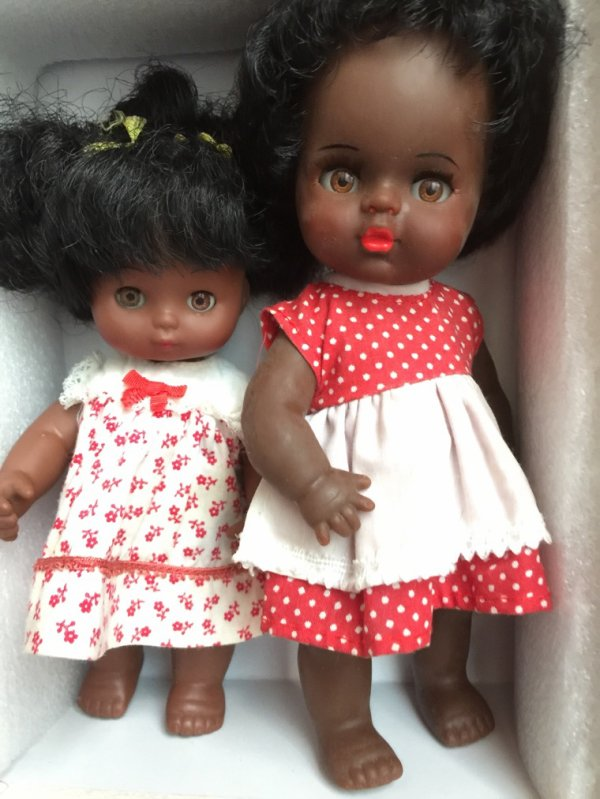 Petite Gama et sa copine.