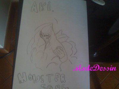 ModeDessin : Monster Soul , Aki.