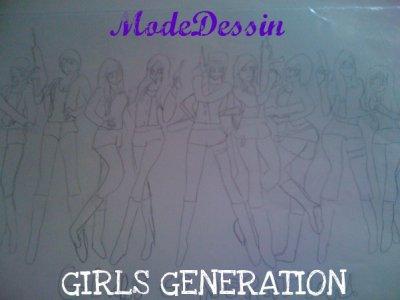 """"""" Girls Génération """""""