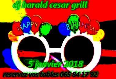 5 janvier 2018 cesar grill