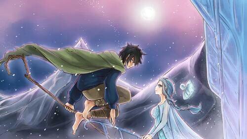 Image gruvia 2: les cinq legendes/la reine des neige