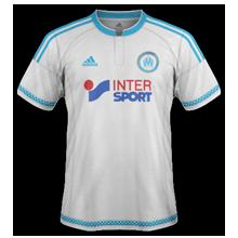 maillot domicile Olympique de Marseille