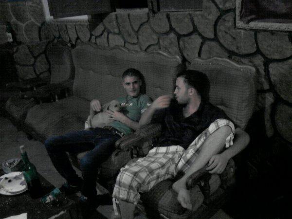 moi et mon cousin farid
