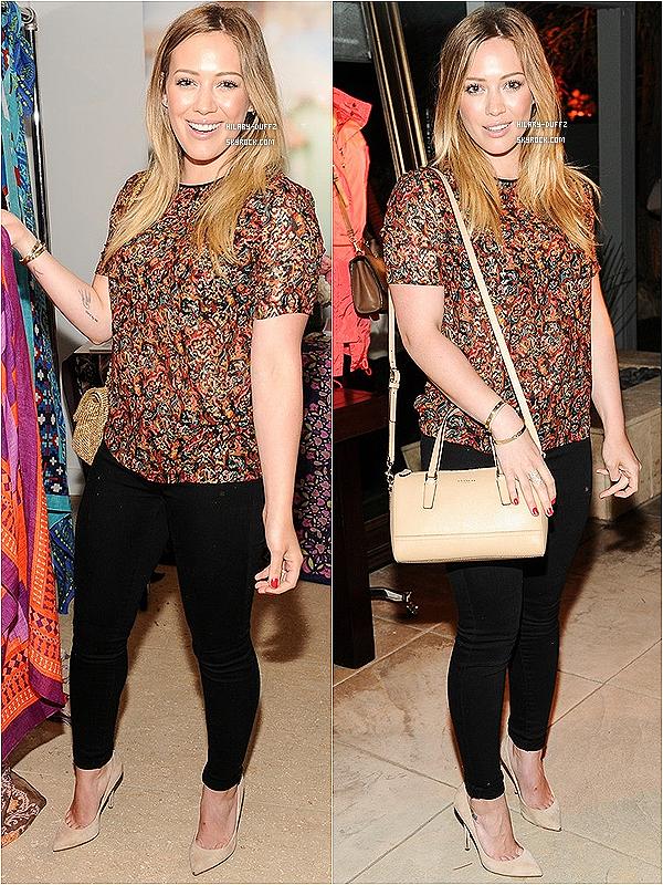 15 MARS 2013 - Hilary Duff a été photographiée avec le petit Luca se baladant dans Los Angeles
