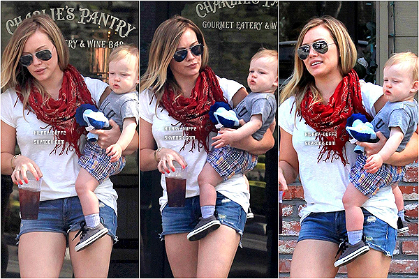 26 MARS 2013 - Hilary Duff fait du shopping, Beberly Hills