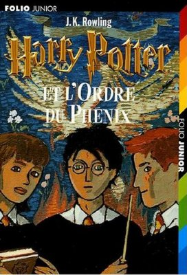 Harry Potter 5, de Joanne K. Rowling