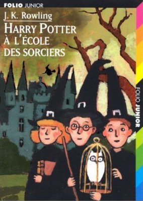 Harry Potter 1, de Joanne K. Rowling