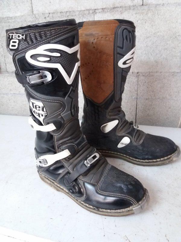 Mes bottes motocross
