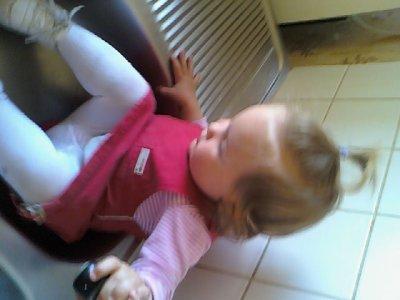 Ophelia chez sa mamie !