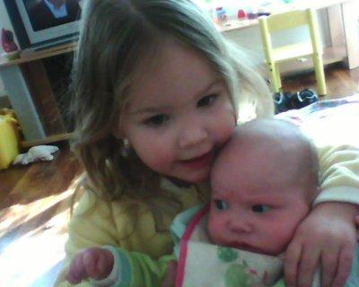 Ophelia et sa soeur Lola