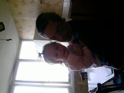 OPhelia avec son papi!