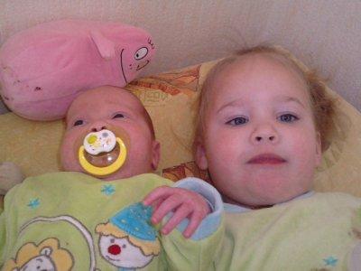 Mes deux fille qui est toute ma vie