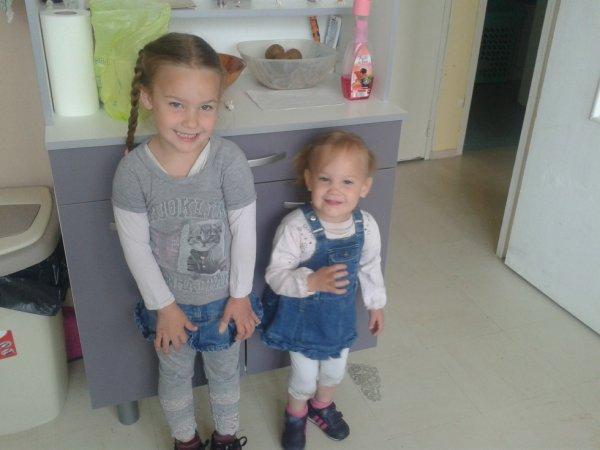 Mes deux petites princesse !!!