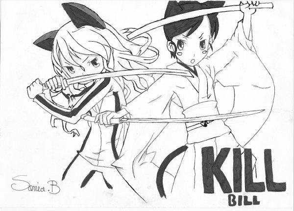 Manga action: Kill bill