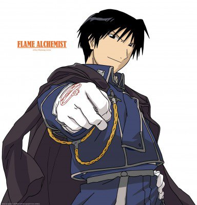 Personnages (5) : ROY MUSTANG