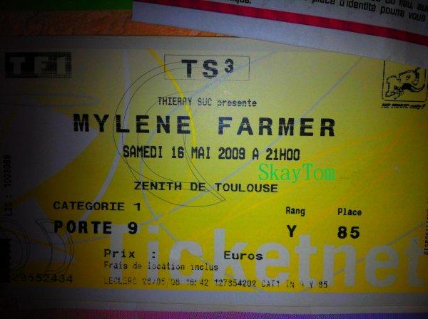 Myléne Farmer @Toulouse-16 Mai 2009