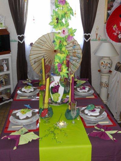 table deco zen