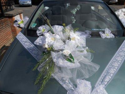 deco voiture pour mariage de creationsissi