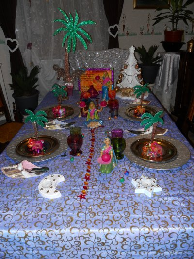 Deco de table de noel theme orientale - Deco tables de noel ...