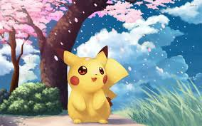 J'adore pikachu.
