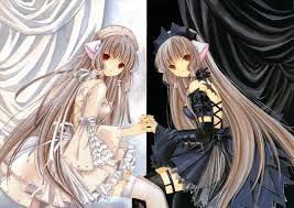 Chobits.   Elda et Freya