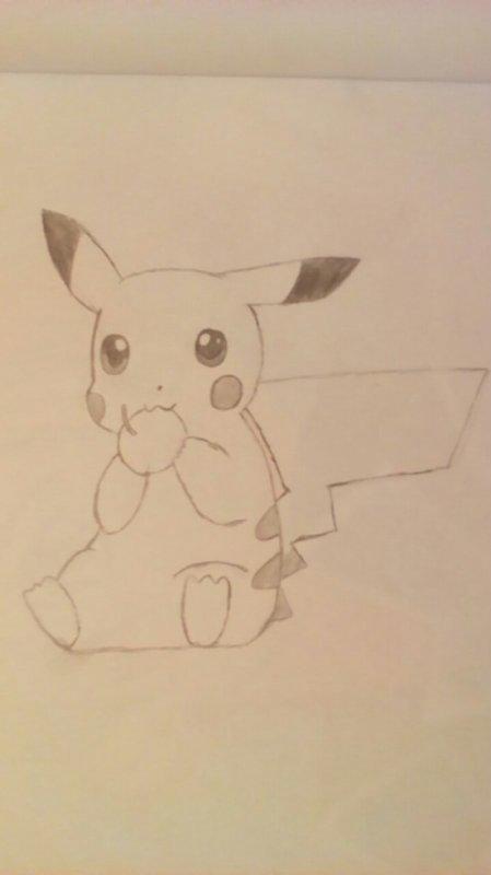 Pikachu, mon dessin!
